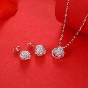 Jewelry - 925 sterling silver luxury Jewelry set